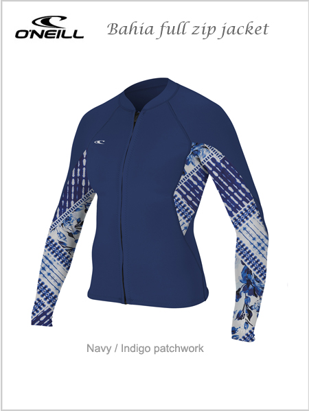 Bahia full zip neoprene jacket