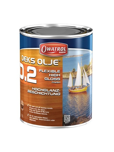 DEKS OLJE D2 High gloss finish - 1 litre