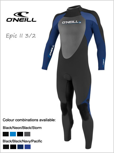 Epic II 3/2 wetsuit (in XL only)