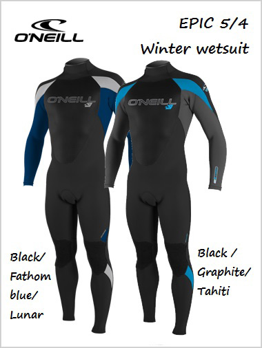 Epic 5/4 Winter wetsuit