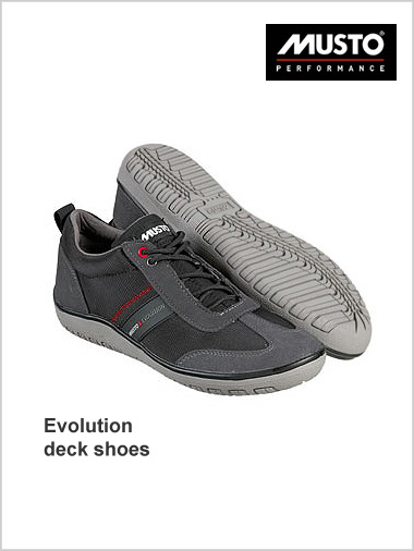 Evolution deck shoes