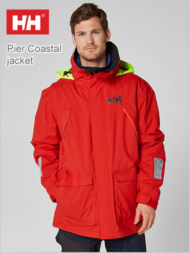 Pier Coastal jacket red