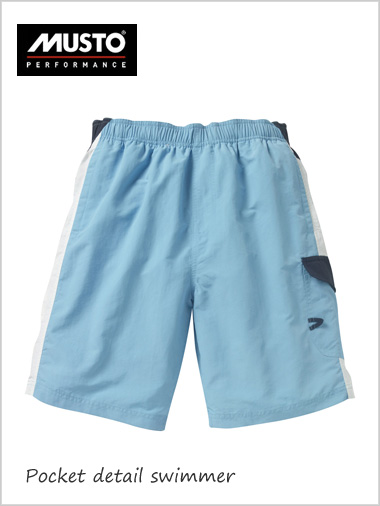 Pocket detail swimmer shorts
