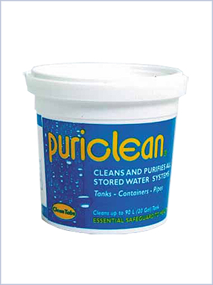 Puriclean 100g - water tank cleaner