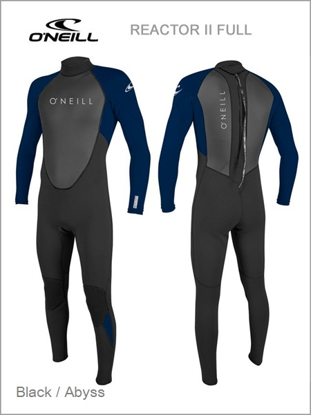 Reactor II Full wetsuit - Black / abyss