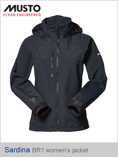 Sardinia BR1 Women's jacket - black