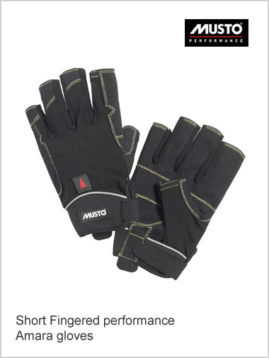 Short fingered performance Amara gloves (only 2XL now left)