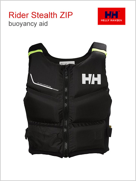 Rider Stealth ZIP buoyancy aid