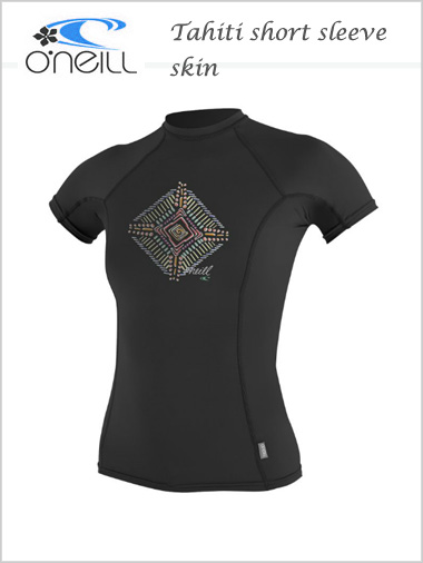 Tahiti Short sleeve skin / rash guard - womens (only M now left)