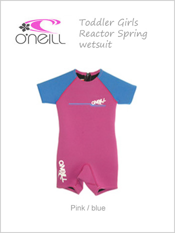 Reactor Spring wetsuit (shorty) - Age 6