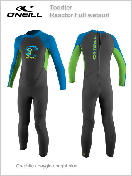 Reactor Full wetsuit (unisex) Toddler - graphite