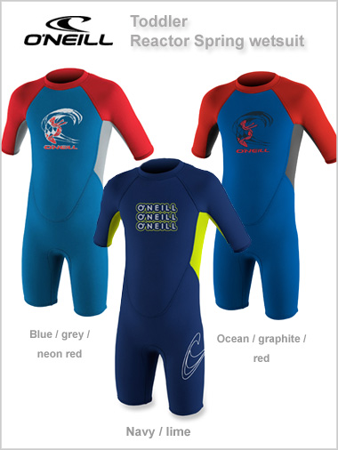 Reactor Spring wetsuit (shorty) Toddler - unisex