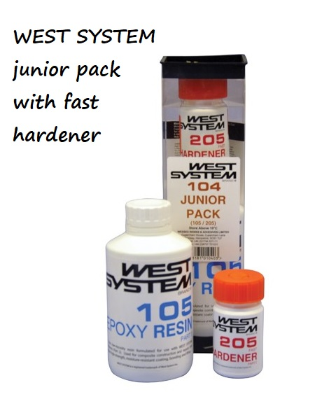 West System Epoxy - 104 Junior Pack