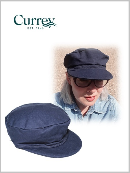 Captain Currey Adjustable Sailcloth Cap