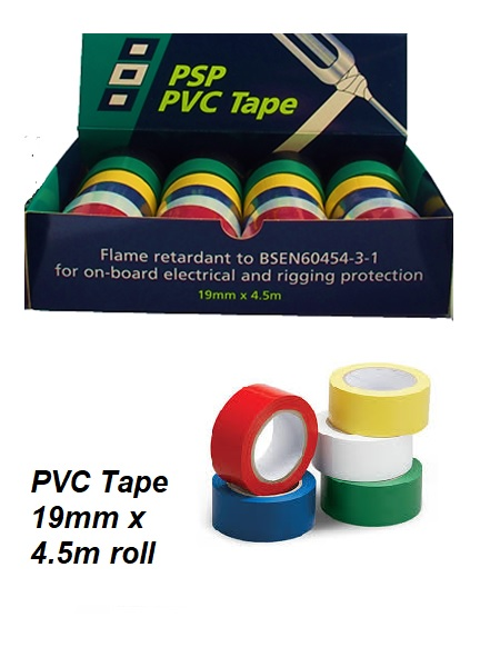 PVC electrical tape.