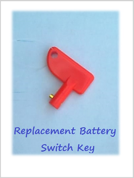 Battery Switch Key