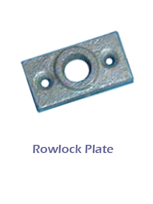 Galvanised Rowlock Plate 10mm