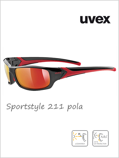 Sportstyle 211 POLAVISION red mirror lens - cat 3