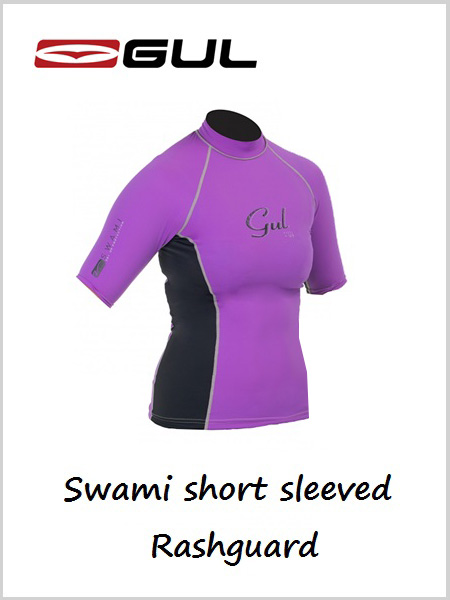 Swami women's short sleeved Rashguard